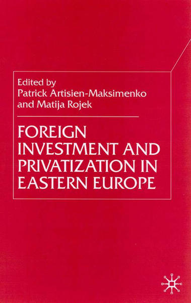 Foreign Investment and Privatization in Eastern Europe - Coverbild
