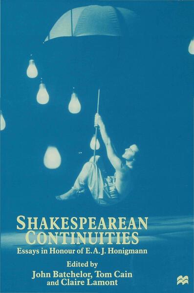 Shakespearean Continuities - Coverbild