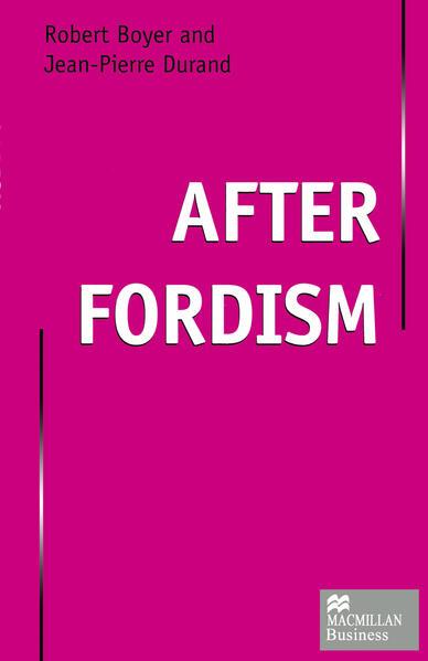 After Fordism - Coverbild