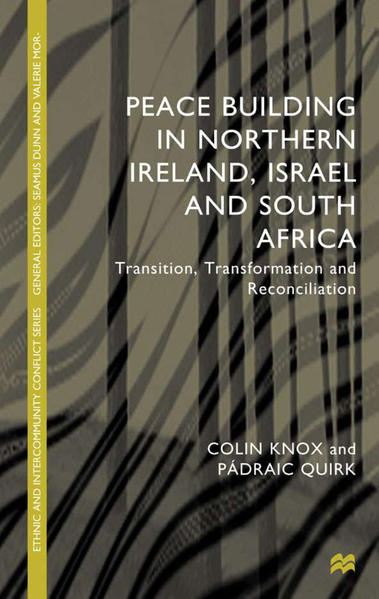 Peacebuilding in Northern Ireland, Israel and South Africa - Coverbild