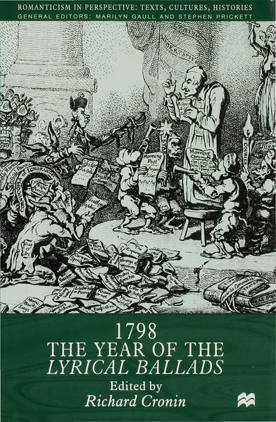 1798: The Year of the Lyrical Ballads - Coverbild