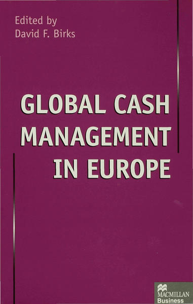 Global Cash Management in Europe - Coverbild