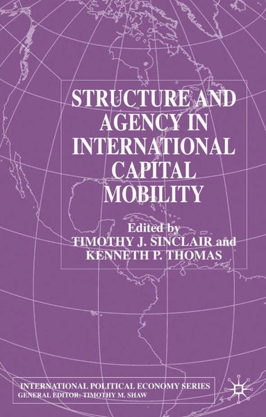 Structure and Agency in International Capital Mobility - Coverbild
