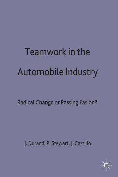Teamwork in the Automobile Industry - Coverbild
