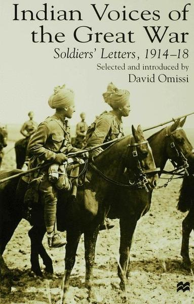 Indian Voices of the Great War - Coverbild