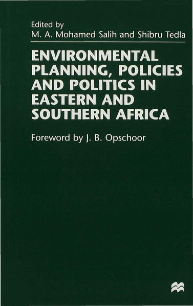 Environmental Planning, Policies and Politics in Eastern and Southern Africa - Coverbild