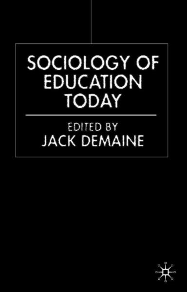 Sociology of Education Today - Coverbild