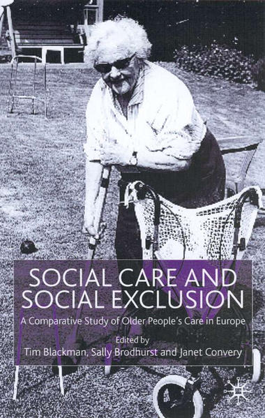 Social Care and Social Exclusion - Coverbild