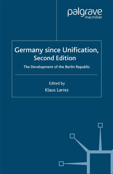 Germany since Unification - Coverbild