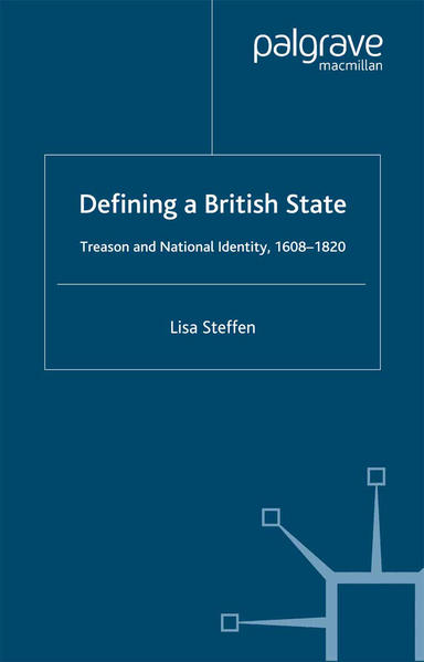 Defining a British State - Coverbild