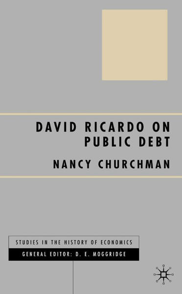 David Ricardo on Public Debt - Coverbild