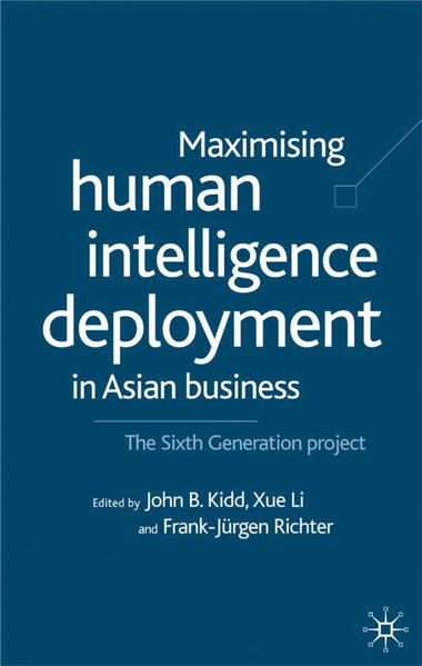 Maximising Human Intelligence Deployment in Asian Business - Coverbild