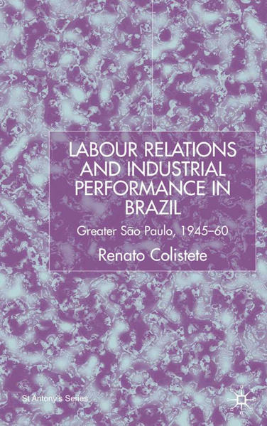 Labour Relations and Industrial Performance in Brazil - Coverbild