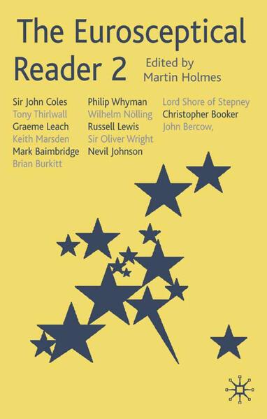 The Eurosceptical Reader 2 - Coverbild