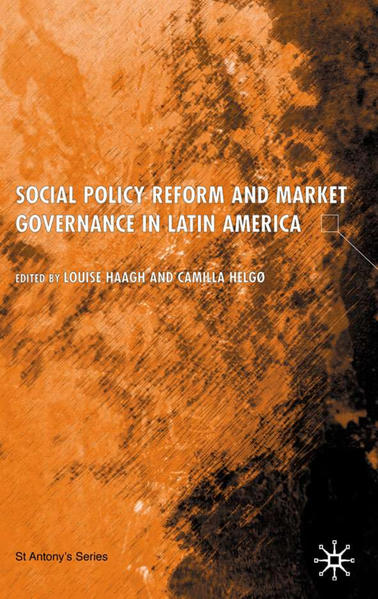 Social Policy Reform and Market Governance in Latin America - Coverbild
