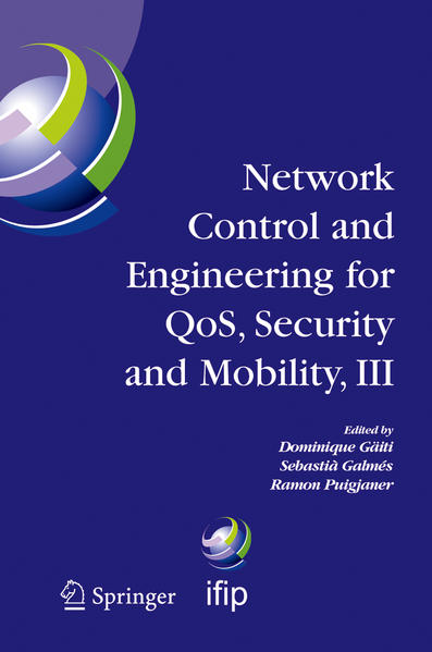 Network Control and Engineering for QOS, Security and Mobility, III - Coverbild