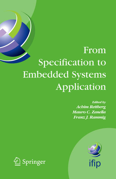 From Specification to Embedded Systems Application - Coverbild
