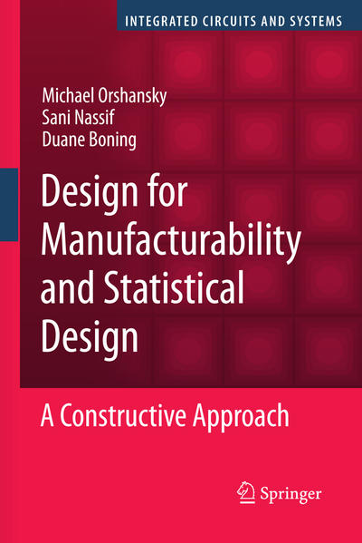 Design for Manufacturability and Statistical Design - Coverbild