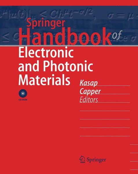 Springer Handbook of Electronic and Photonic Materials - Coverbild