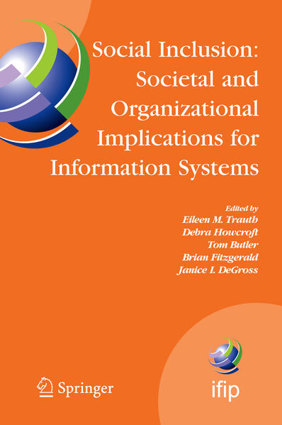 Social Inclusion: Societal and Organizational Implications for Information Systems - Coverbild