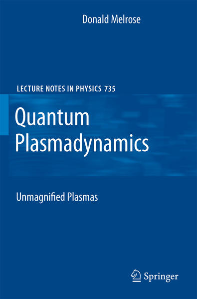 Quantum Plasmadynamics - Coverbild