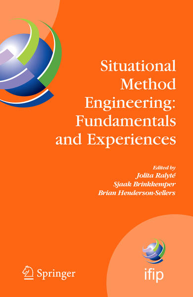Situational Method Engineering: Fundamentals and Experiences - Coverbild