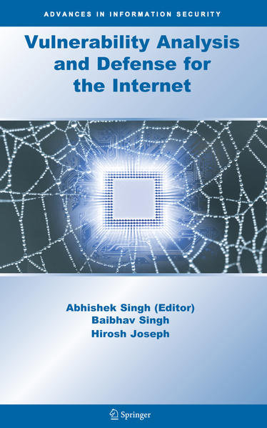 Vulnerability Analysis and Defense for the Internet - Coverbild