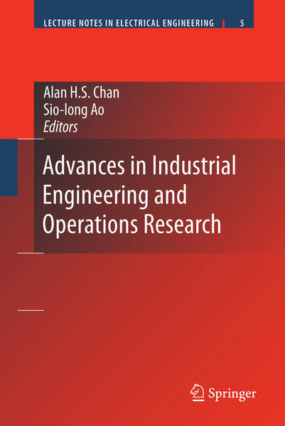 Advances in Industrial Engineering and Operations Research - Coverbild
