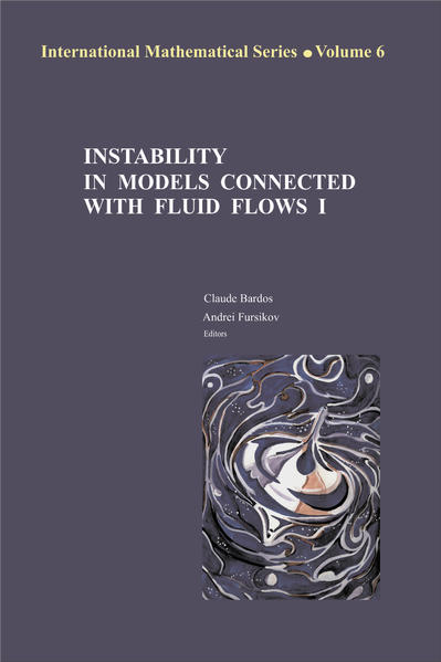 Instability in Models Connected with Fluid Flows - Coverbild