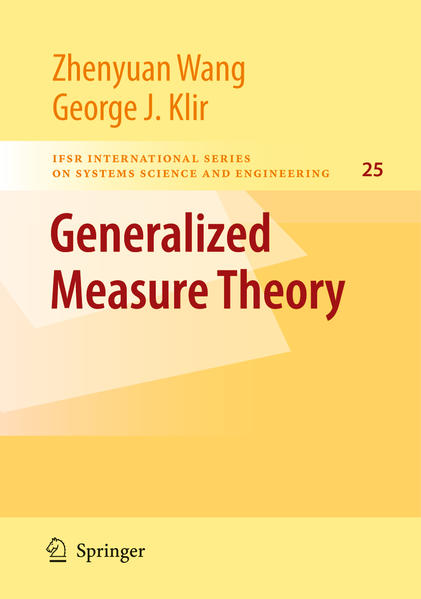 Generalized Measure Theory - Coverbild