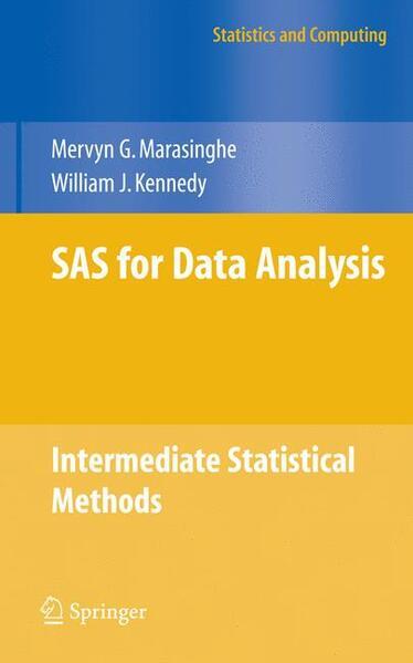 SAS for Data Analysis - Coverbild