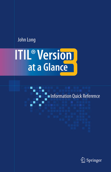 ITIL Version 3 at a Glance - Coverbild