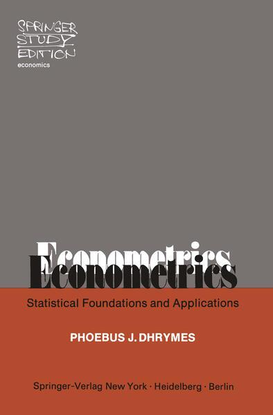 Econometrics - Coverbild