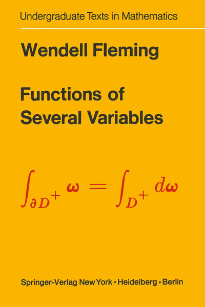 Functions of Several Variables - Coverbild