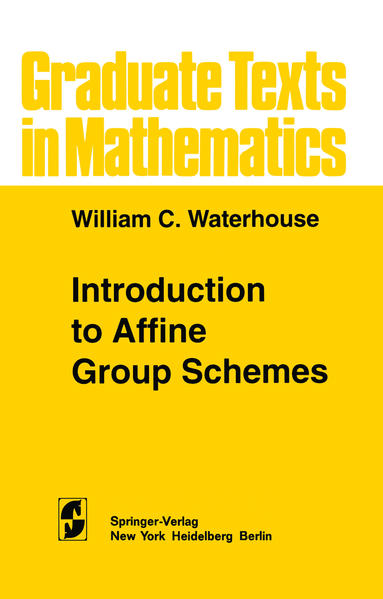Introduction to Affine Group Schemes - Coverbild