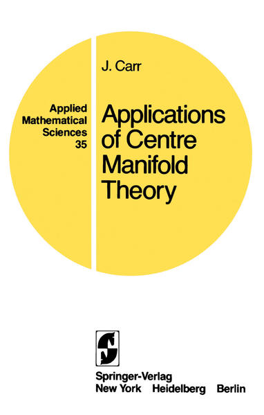 Applications of Centre Manifold Theory - Coverbild