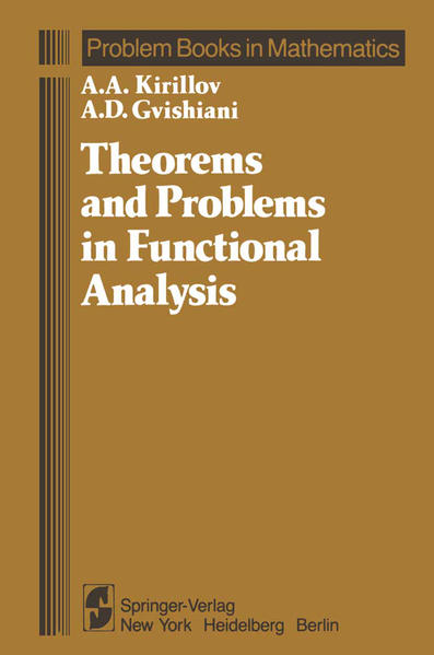Theorems and Problems in Functional Analysis - Coverbild
