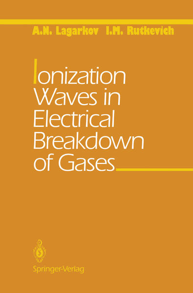 Ionization Waves in Electrical Breakdown of Gases - Coverbild