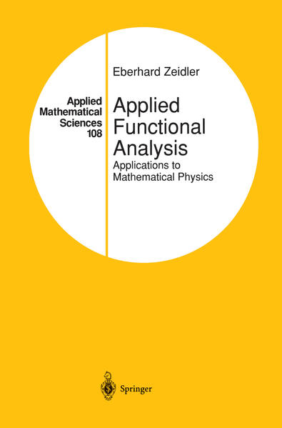 Applied Functional Analysis - Coverbild