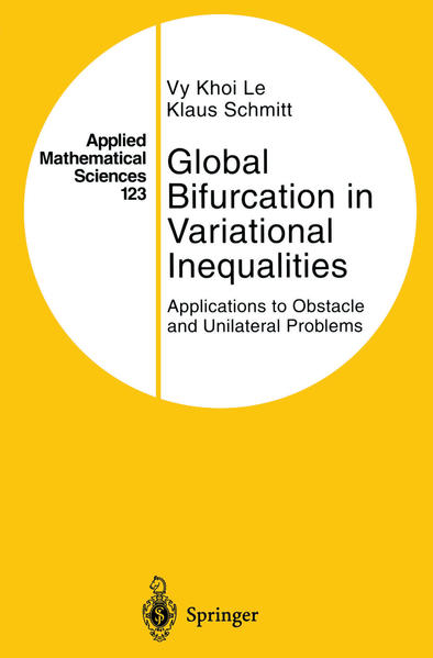 Global Bifurcation in Variational Inequalities - Coverbild