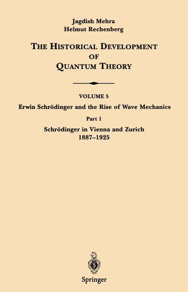 Part 1 Schrödinger in Vienna and Zurich 1887–1925 - Coverbild