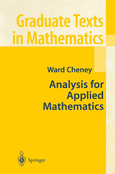 Analysis for Applied Mathematics - Coverbild
