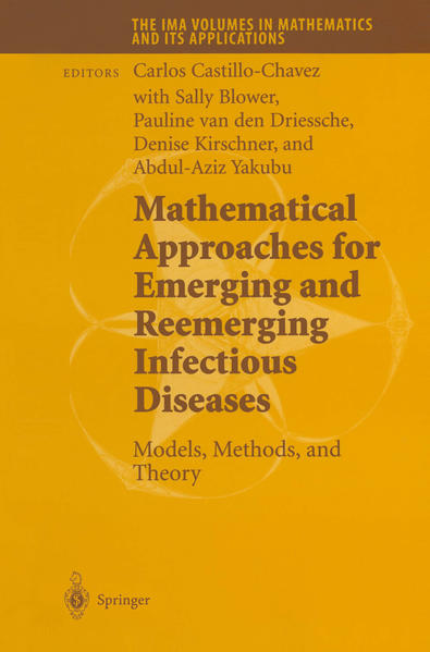 Mathematical Approaches for Emerging and Reemerging Infectious Diseases: Models, Methods, and Theory - Coverbild
