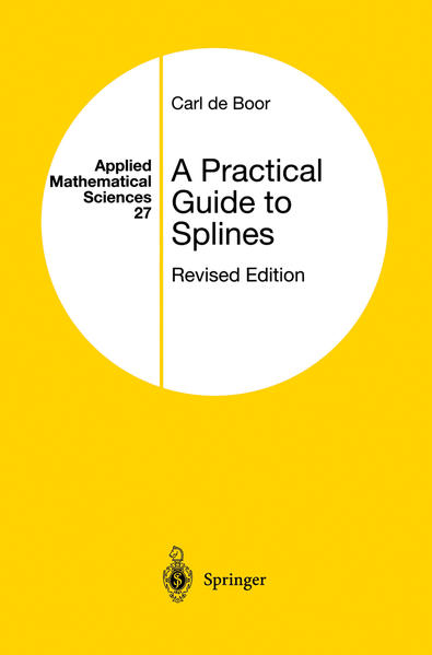 A Practical Guide to Splines - Coverbild