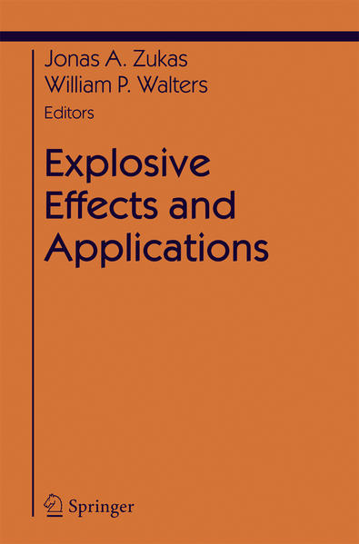 Explosive Effects and Applications - Coverbild