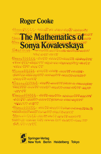 The Mathematics of Sonya Kovalevskaya - Coverbild