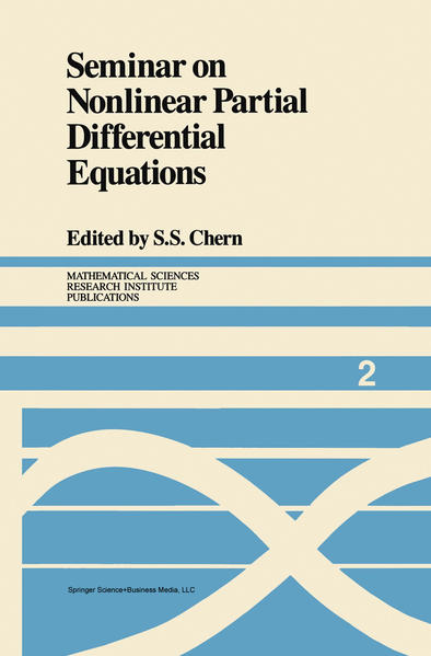 Seminar on Nonlinear Partial Differential Equations - Coverbild