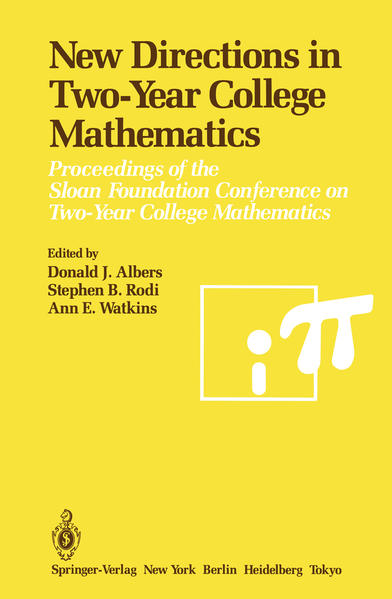 New Directions in Two-Year College Mathematics - Coverbild