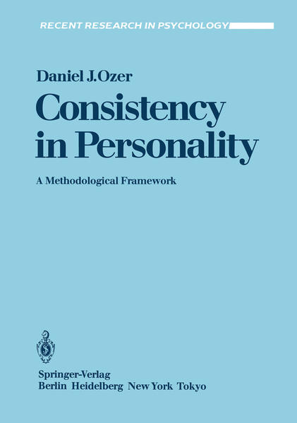 Consistency in Personality - Coverbild