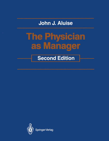The Physician as Manager - Coverbild